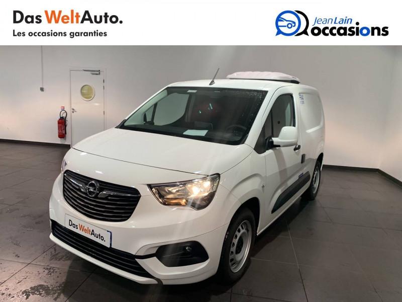 Opel Combo COMBO CARGO FRIGO 1.5 100 ch 4P 3PL PACK CLIM 4p Blanc occasion à Seynod