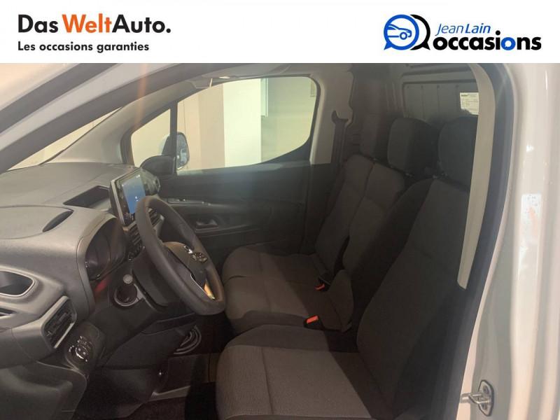 Opel Combo COMBO CARGO FRIGO 1.5 100 ch 4P 3PL PACK CLIM 4p Blanc occasion à Seynod - photo n°17