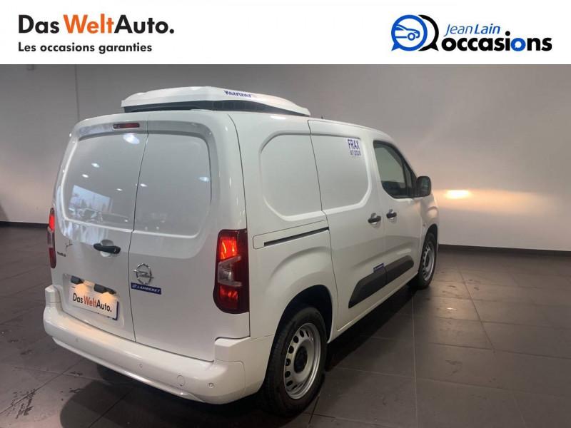 Opel Combo COMBO CARGO FRIGO 1.5 100 ch 4P 3PL PACK CLIM 4p Blanc occasion à Seynod - photo n°5