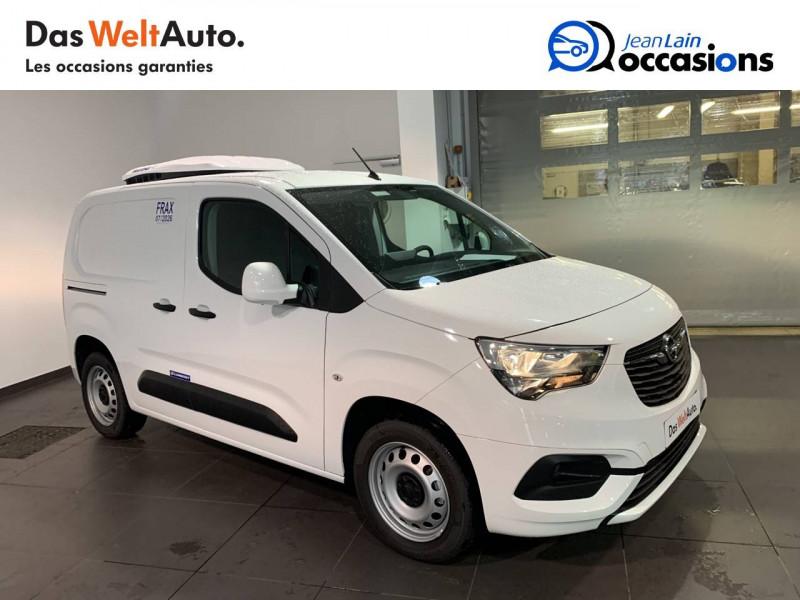 Opel Combo COMBO CARGO FRIGO 1.5 100 ch 4P 3PL PACK CLIM 4p Blanc occasion à Seynod - photo n°3