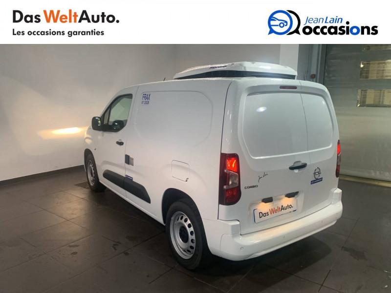 Opel Combo COMBO CARGO FRIGO 1.5 100 ch 4P 3PL PACK CLIM 4p Blanc occasion à Seynod - photo n°7
