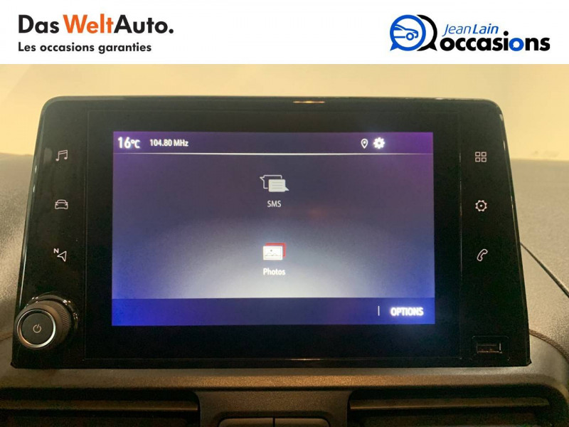 Opel Combo COMBO CARGO FRIGO 1.5 100 ch 4P 3PL PACK CLIM 4p Blanc occasion à Seynod - photo n°16