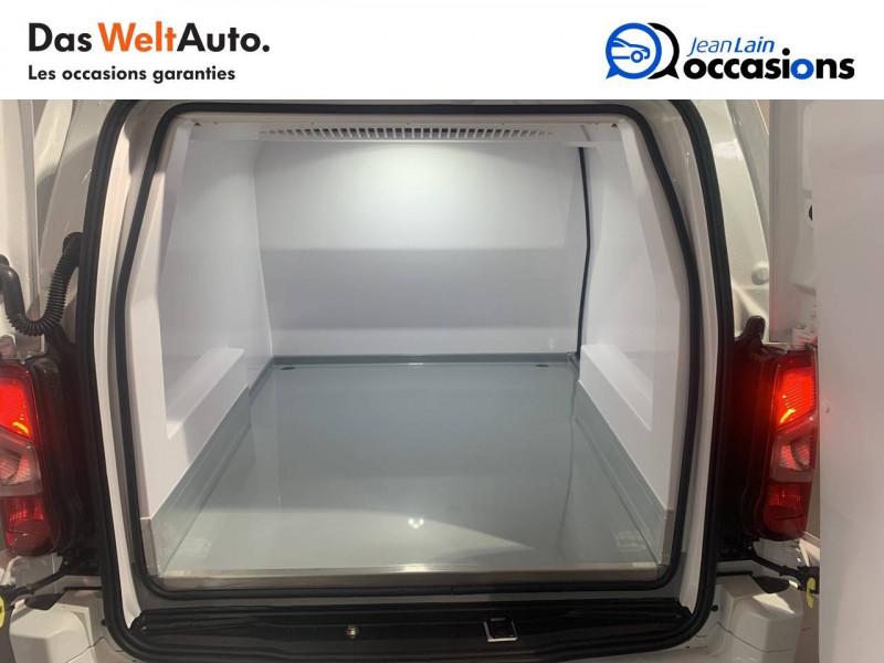 Opel Combo COMBO CARGO FRIGO 1.5 100 ch 4P 3PL PACK CLIM 4p Blanc occasion à Seynod - photo n°10