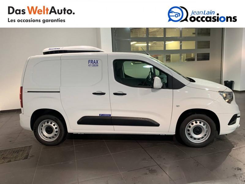 Opel Combo COMBO CARGO FRIGO 1.5 100 ch 4P 3PL PACK CLIM 4p Blanc occasion à Seynod - photo n°4