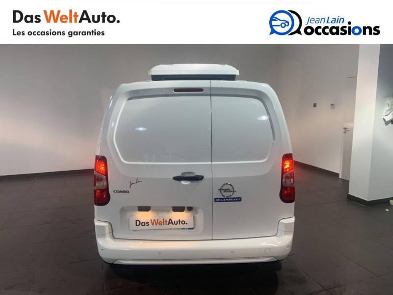 Opel Combo COMBO CARGO FRIGO 1.5 100 ch 4P 3PL PACK CLIM 4p Blanc occasion à Seynod - photo n°6
