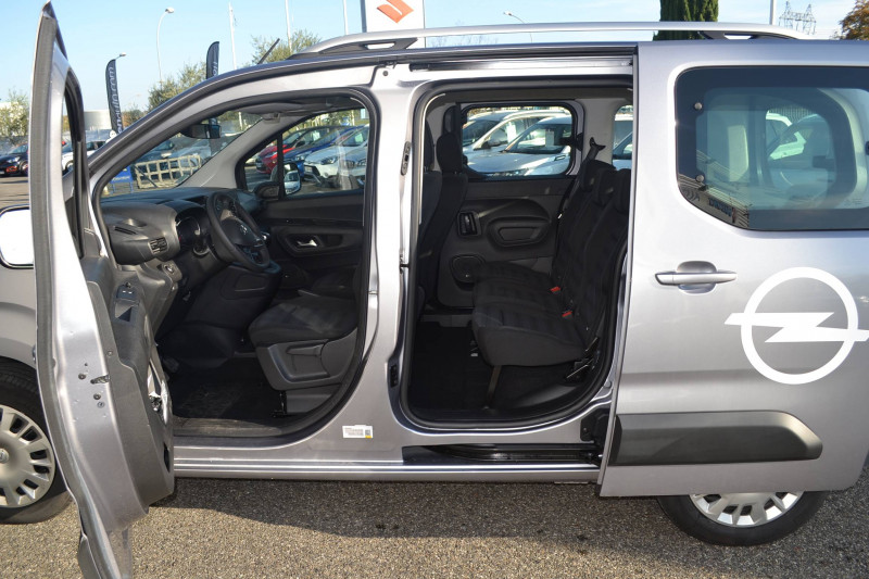 Opel Combo Combo Life L1H1 1.2 110 ch Start/Stop Enjoy 5p Gris occasion à  - photo n°6