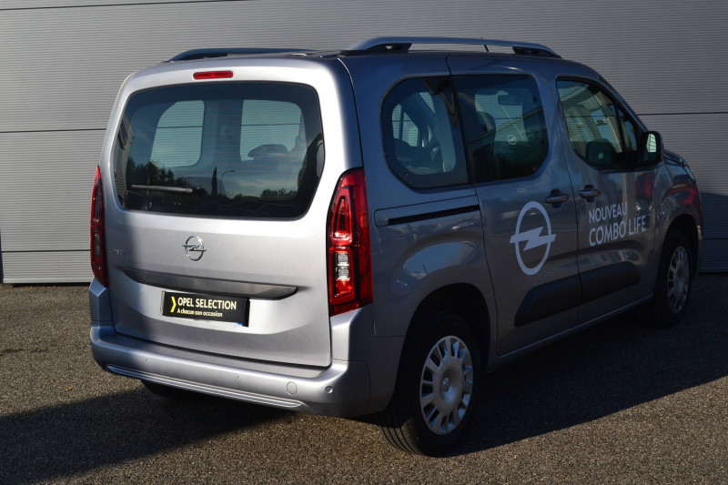 Opel Combo Combo Life L1H1 1.2 110 ch Start/Stop Enjoy 5p Gris occasion à  - photo n°2