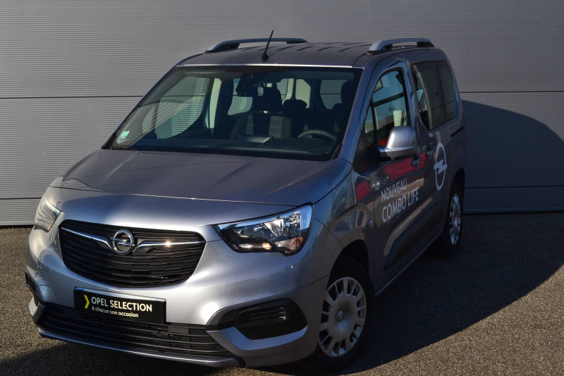 Opel Combo Combo Life L1H1 1.2 110 ch Start/Stop Enjoy 5p Gris occasion à