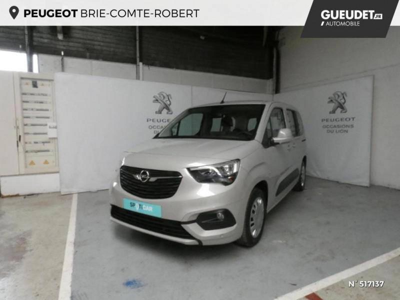 Opel Combo L1H1 1.2 110ch S&S Enjoy Gris occasion à Brie-Comte-Robert