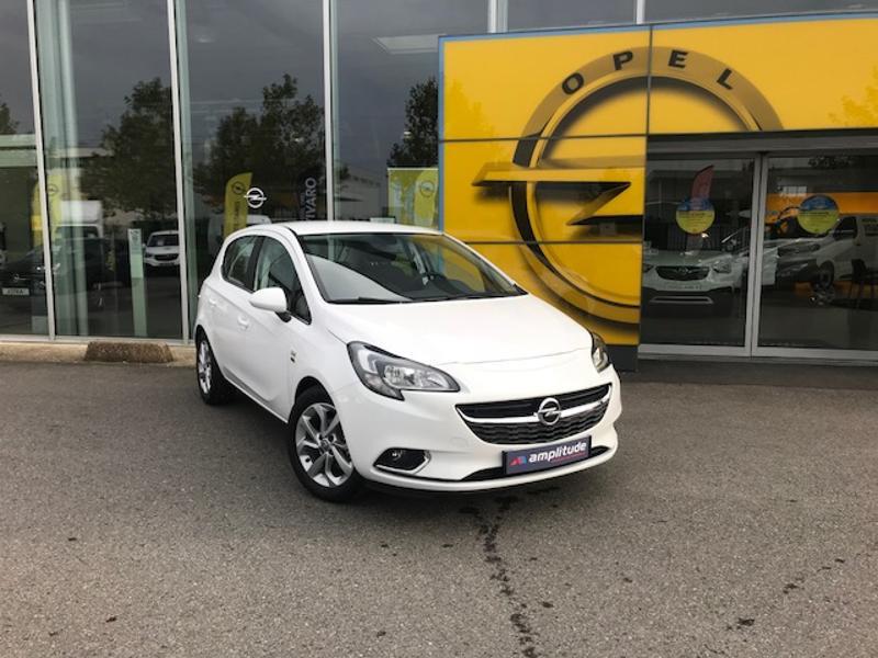 Opel Corsa 1.0 ECOTEC Turbo 90ch Design 120 ans Start/Stop 5p Blanc occasion à Vert-Saint-Denis