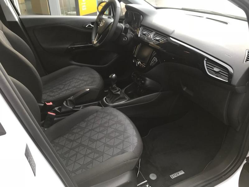 Opel Corsa 1.0 ECOTEC Turbo 90ch Design 120 ans Start/Stop 5p Blanc occasion à Vert-Saint-Denis - photo n°5