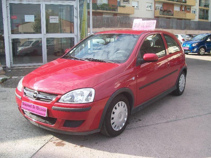 Opel Corsa occasion 2004 mise en vente à Toulouse par le garage GROUPEMENT DE L'OCCASION - photo n°1