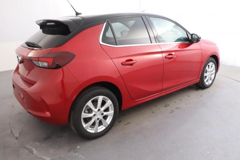 Opel Corsa 1.2 100CH ELEGANCE EAT8 Rouge occasion à Aubière - photo n°3
