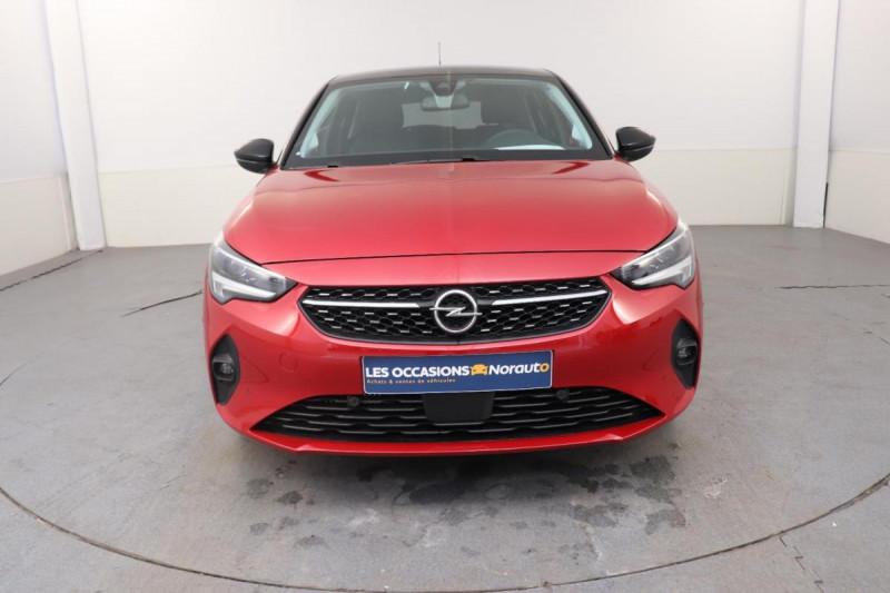 Opel Corsa 1.2 100CH ELEGANCE EAT8 Rouge occasion à Saint-Herblain - photo n°2