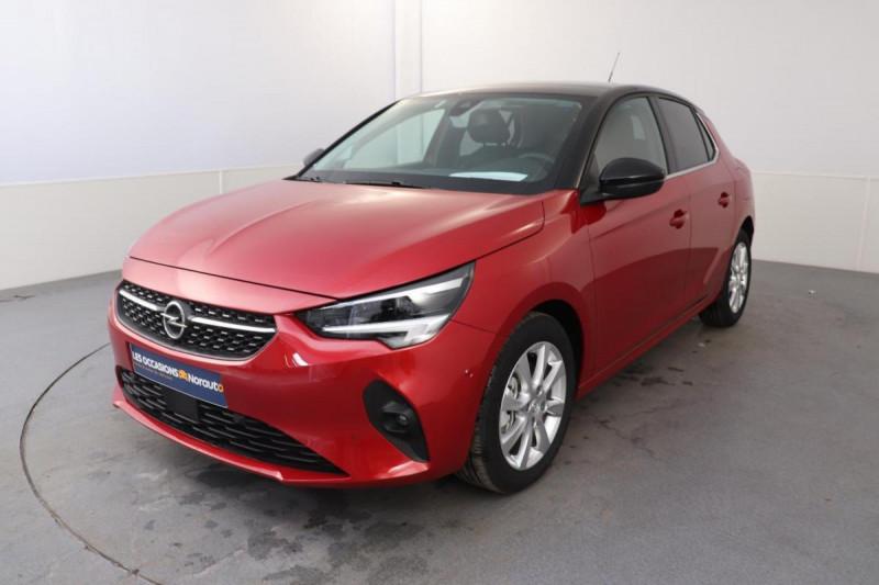 Opel Corsa 1.2 100CH ELEGANCE EAT8 Rouge occasion à Saint-Herblain