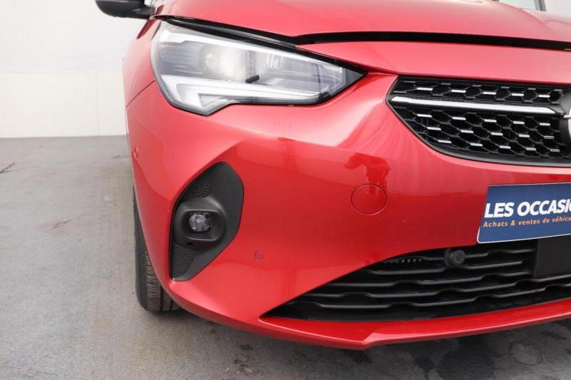Opel Corsa 1.2 100CH ELEGANCE EAT8 Rouge occasion à La Garde - photo n°8