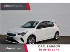 Opel Corsa 1.2 75 ch BVM5 Edition Blanc à Toulenne 33