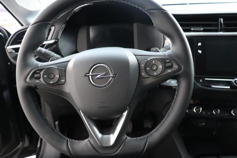 Opel Corsa 1.2 Turbo 100 ch BVA8 Elegance Noir occasion à La Garde - photo n°10