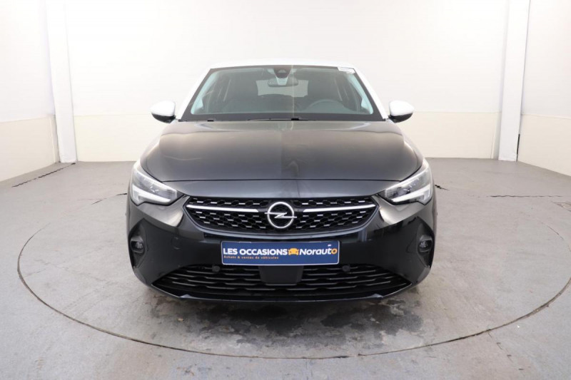 Opel Corsa 1.2 Turbo 100 ch BVA8 Elegance Noir occasion à Saint-Priest - photo n°2