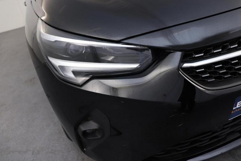 Opel Corsa 1.2 Turbo 100 ch BVA8 Elegance Noir occasion à Saint-Priest - photo n°8
