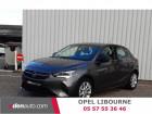 Opel Corsa 1.2 Turbo 100 ch BVM6 Elegance Gris à Libourne 33