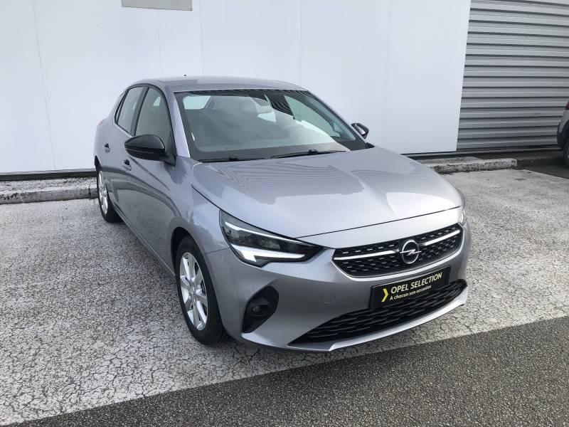Opel Corsa 1.2 Turbo 100 ch BVM6 Elegance Gris occasion à Brive-la-Gaillarde
