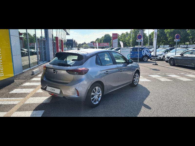 Opel Corsa 1.2 Turbo 100ch Edition BVA Gris occasion à Vert-Saint-Denis - photo n°5