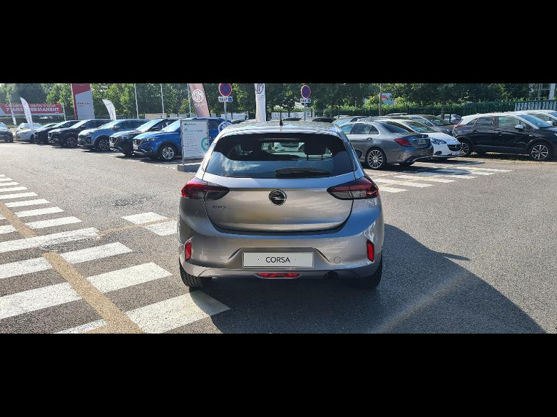 Opel Corsa 1.2 Turbo 100ch Edition BVA Gris occasion à Vert-Saint-Denis - photo n°4