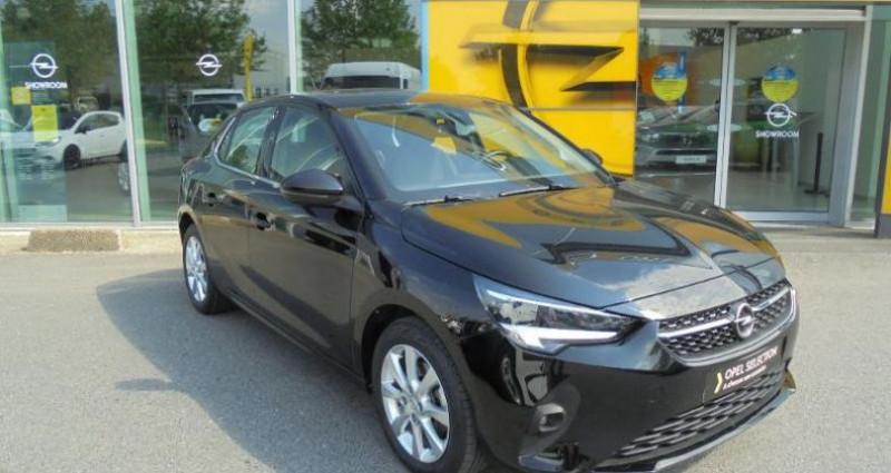 Opel Corsa 1.2 Turbo 100ch Elegance BVA Noir occasion à vert-saint-denis