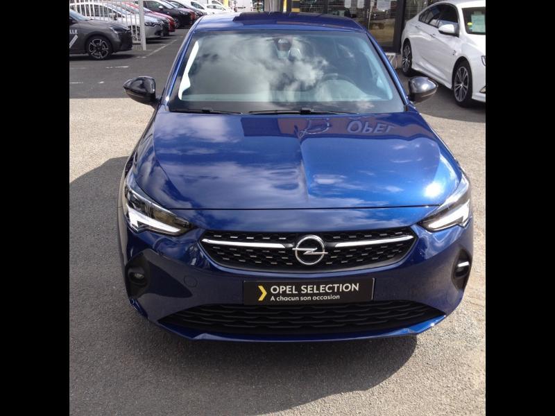 Opel Corsa 1.2 Turbo 100ch Elegance Bleu occasion à Vert-Saint-Denis - photo n°2