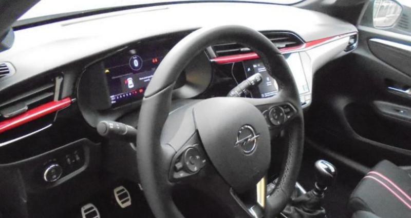 Opel Corsa 1.2 Turbo 100ch GS Line Gris occasion à vert-saint-denis - photo n°6