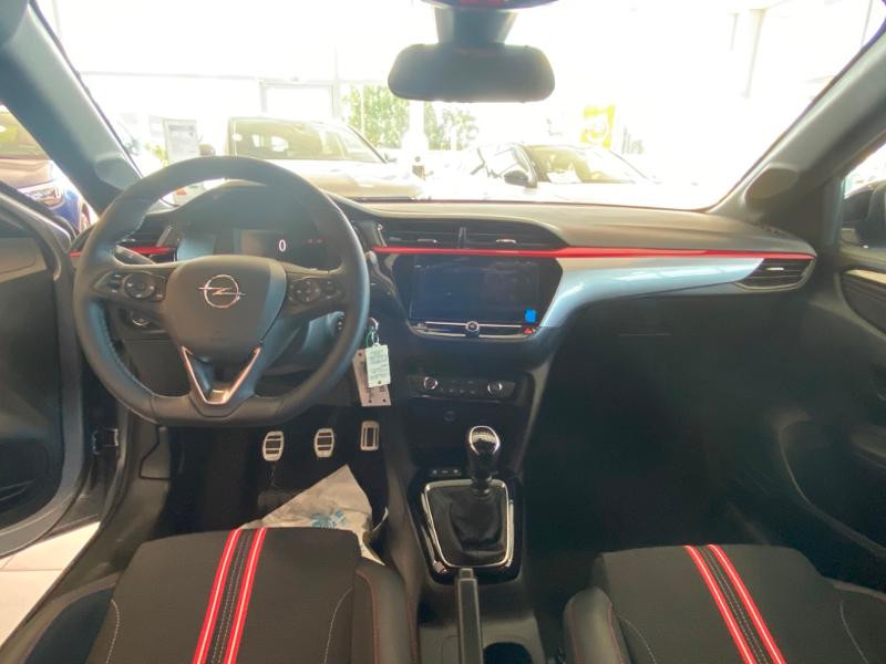 Opel Corsa 1.2 Turbo 100ch GS Line Gris occasion à Varennes-sur-Seine - photo n°8