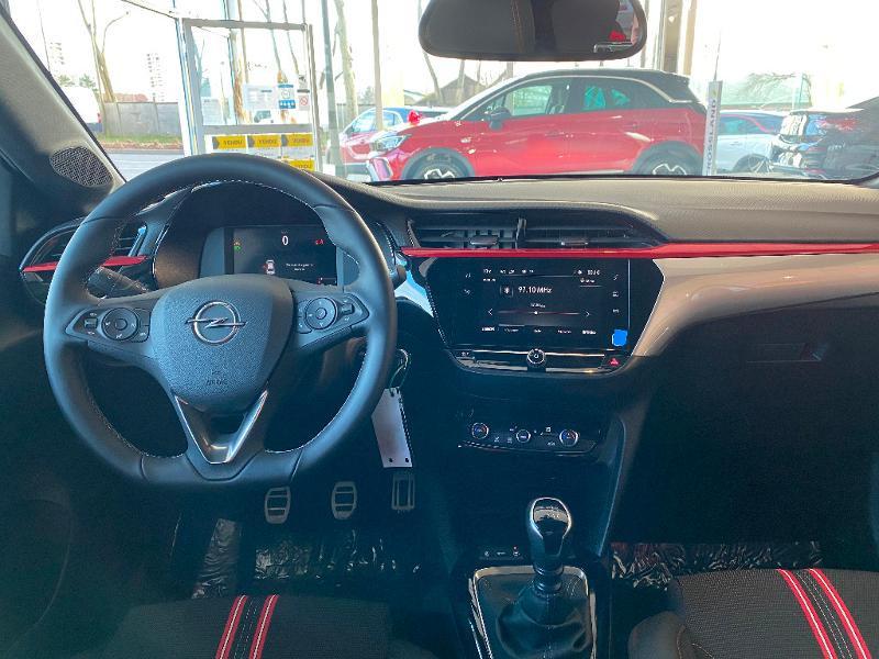 Opel Corsa 1.2 Turbo 100ch GS Line Gris occasion à Meaux - photo n°9