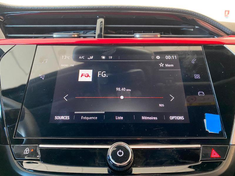 Opel Corsa 1.2 Turbo 100ch GS Line Gris occasion à Meaux - photo n°13