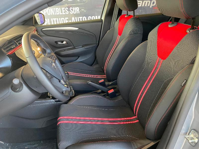 Opel Corsa 1.2 Turbo 100ch GS Line Gris occasion à Meaux - photo n°18