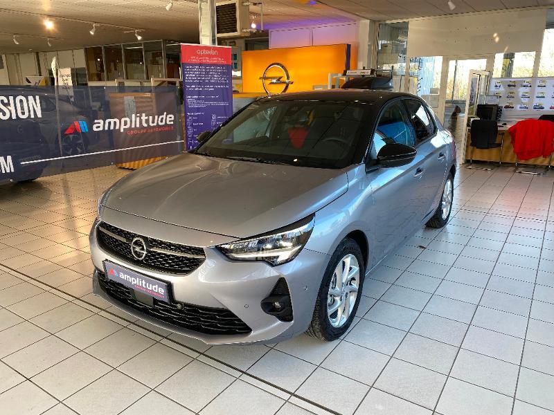 Opel Corsa 1.2 Turbo 100ch GS Line Gris occasion à Meaux