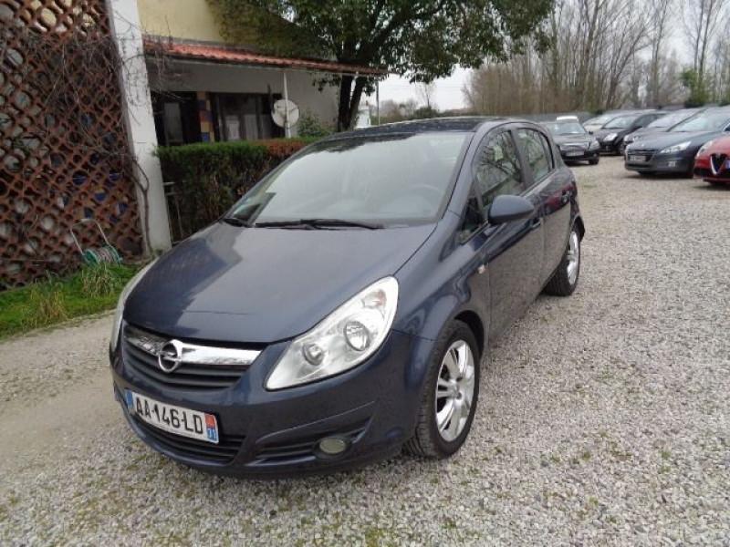 Opel Corsa 1.3 CDTI90 COSMO 5P Bleu occasion à Aucamville