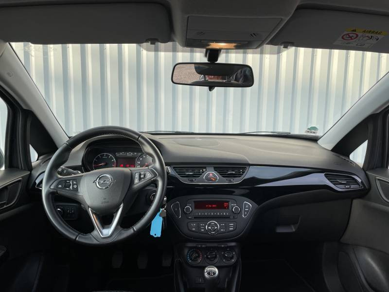 Opel Corsa 1.4 90 ch Edition Gris occasion à Libourne - photo n°8
