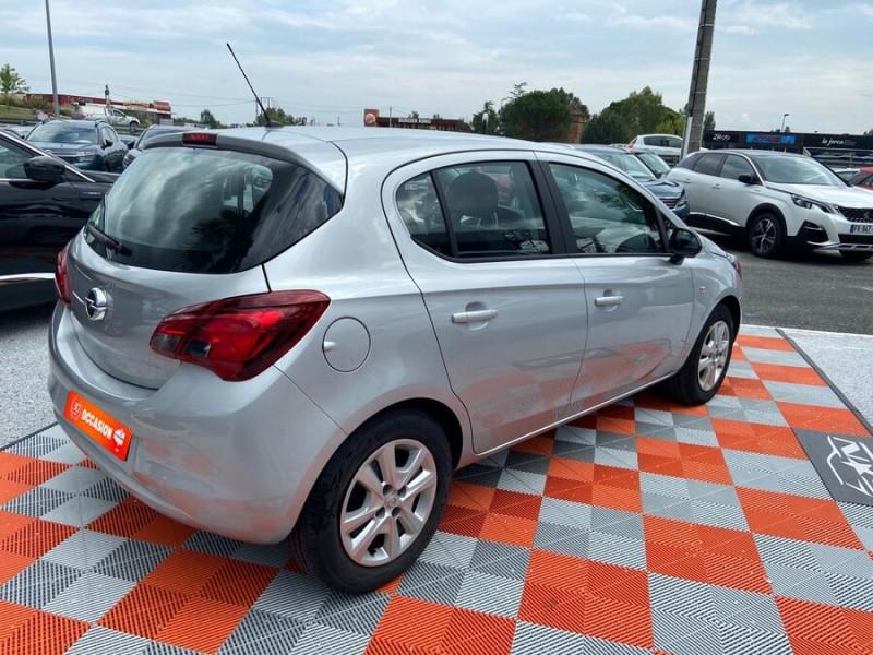 Opel Corsa 1.4 90 ENJOY CLIM Bluetooth JA 15 Gris occasion à Toulouse - photo n°2