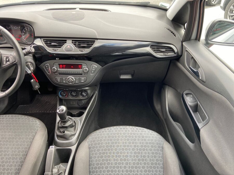 Opel Corsa 1.4 90 ENJOY CLIM Bluetooth JA 15 Gris occasion à Toulouse - photo n°12