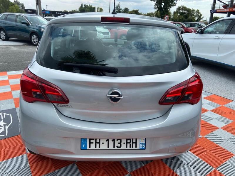 Opel Corsa 1.4 90 ENJOY CLIM Bluetooth JA 15 Gris occasion à Toulouse - photo n°6