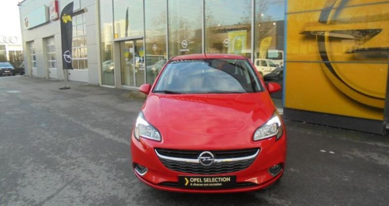 Opel Corsa 1.4 90ch Design 120 ans Start/Stop 5p Rouge occasion à vert-saint-denis - photo n°3