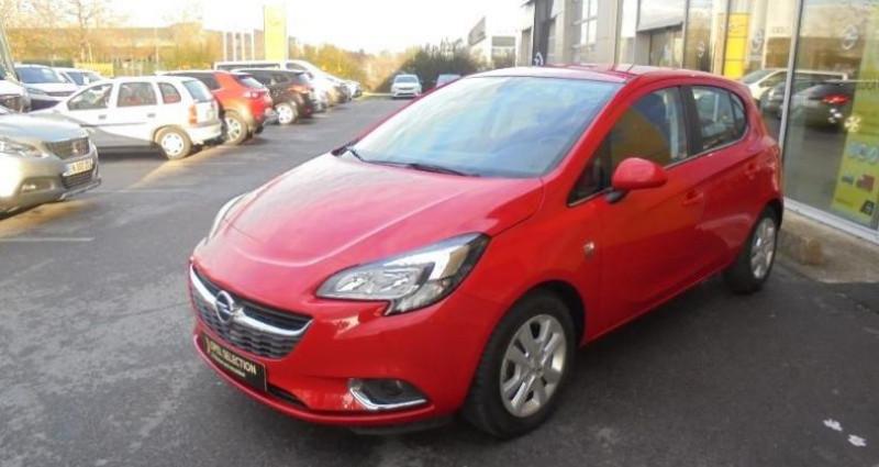 Opel Corsa 1.4 90ch Design 120 ans Start/Stop 5p Rouge occasion à vert-saint-denis - photo n°4