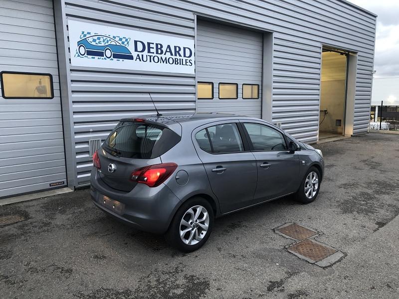 Opel Corsa 1.4 90CH DESIGN 120 ANS START/STOP 5P Gris occasion à Onet-le-Château - photo n°3