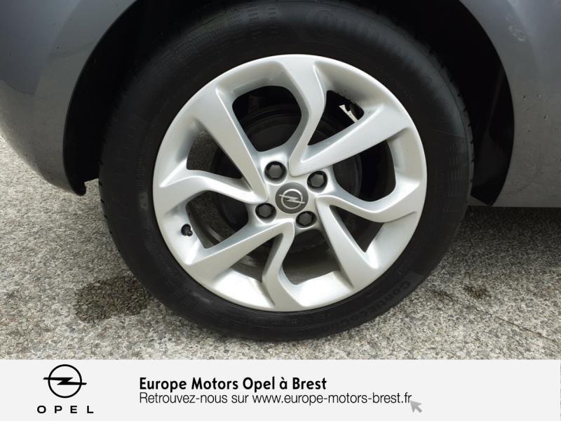 Opel Corsa 1.4 90ch Design Edition Start/Stop 3p Gris occasion à Brest - photo n°11