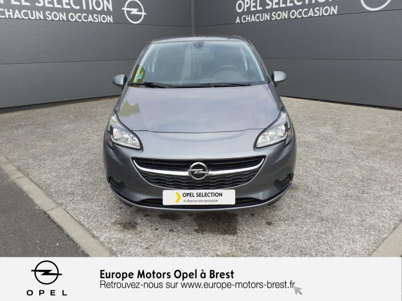 Opel Corsa 1.4 90ch Design Edition Start/Stop 3p Gris occasion à Brest - photo n°2