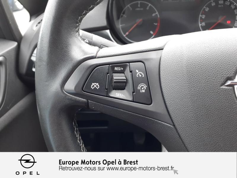 Opel Corsa 1.4 90ch Design Edition Start/Stop 3p Gris occasion à Brest - photo n°12