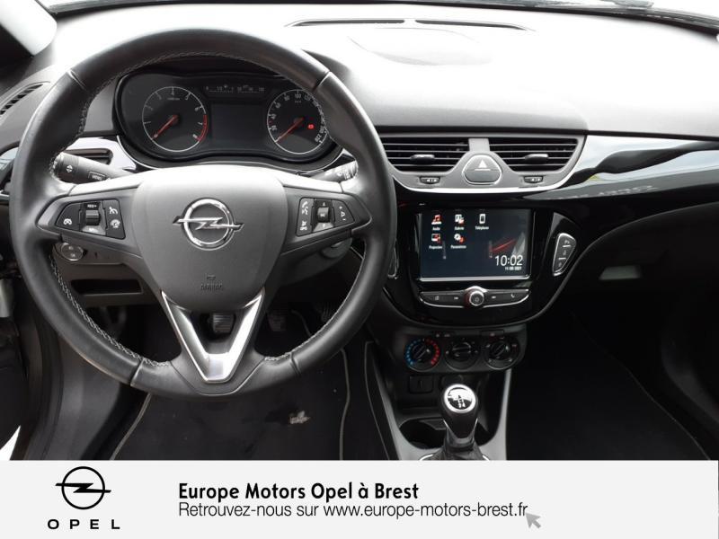 Opel Corsa 1.4 90ch Design Edition Start/Stop 3p Gris occasion à Brest - photo n°8