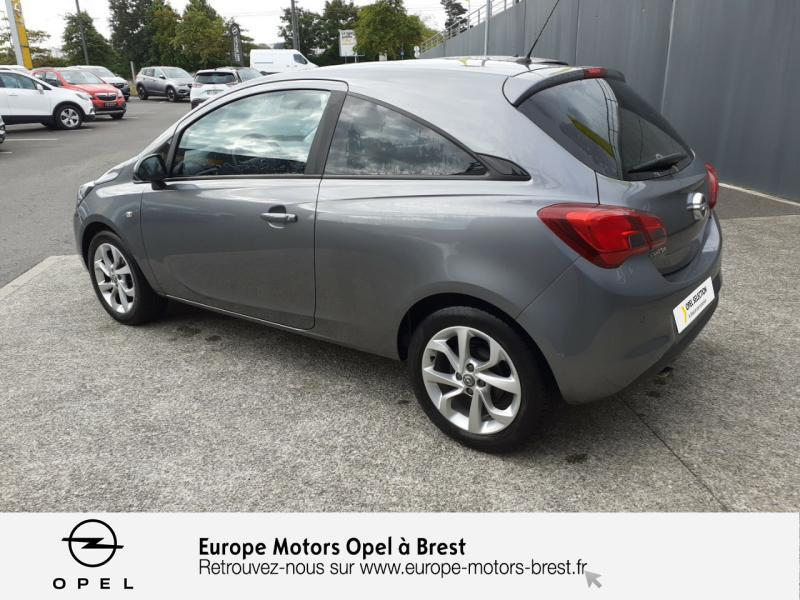 Opel Corsa 1.4 90ch Design Edition Start/Stop 3p Gris occasion à Brest - photo n°7