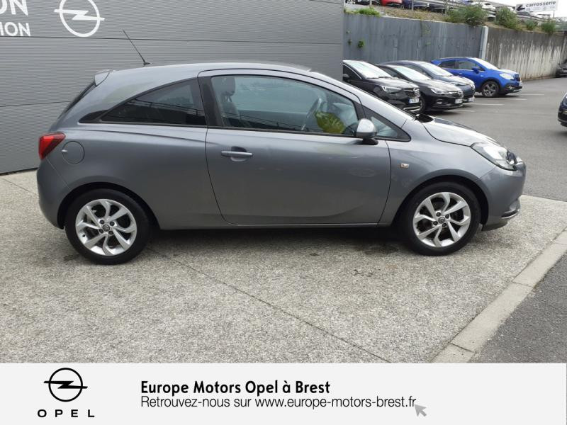 Opel Corsa 1.4 90ch Design Edition Start/Stop 3p Gris occasion à Brest - photo n°4